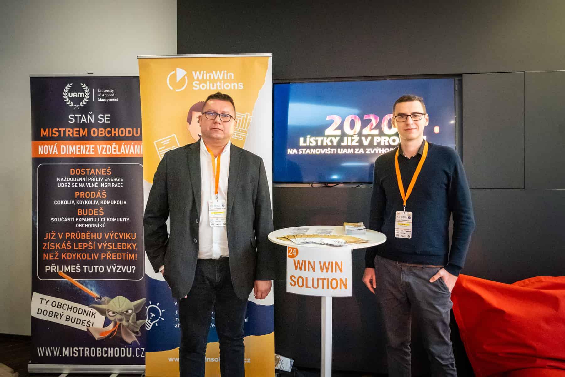 WinWin solutions na nejvýznamnější konference managementu a leadershipu